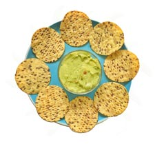 I love guacamole and chips but it's just too many calories to eat to lose weight. The lifechackr diet plan helps you hack your food so you can enjoy it with fewer calories.