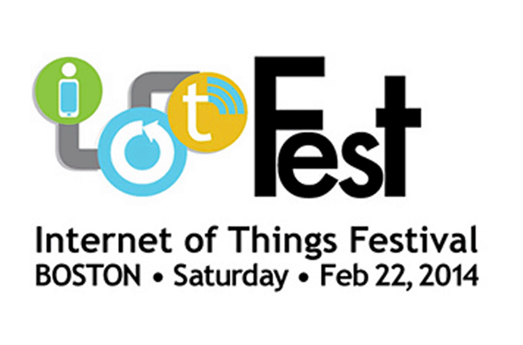 Speaking at the Internet of Things Festival