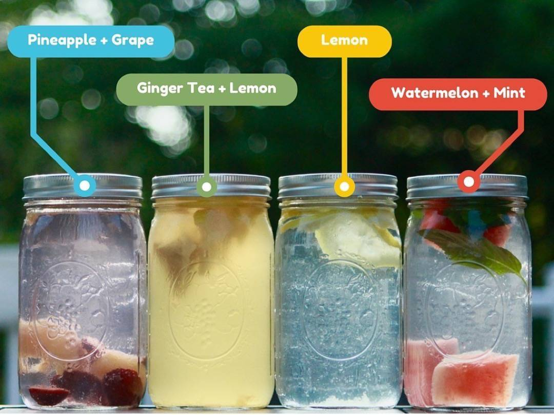 How to stop drinking soda by getting creative with water infusions. lifehackrdiet.com