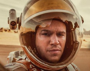 Astronaut Mark Watney from the Movie The Martian