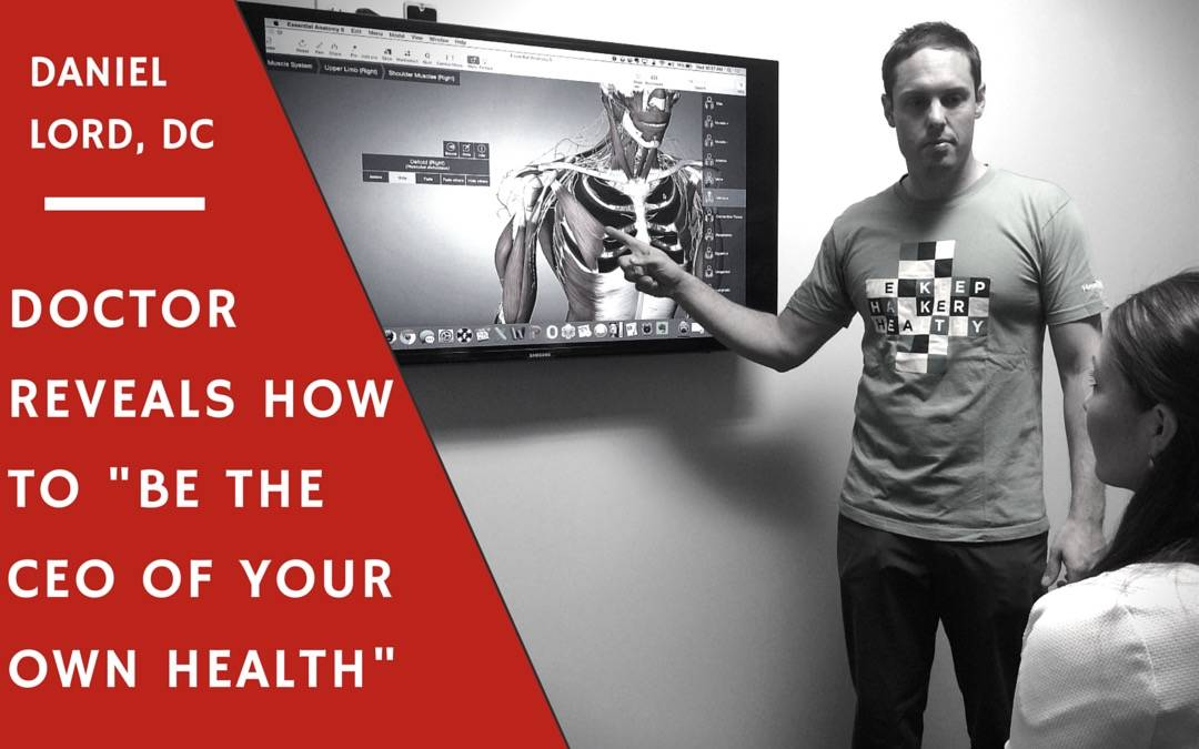"""Doctor Reveals How To Be """"The CEO Of Your Own Health."""""""