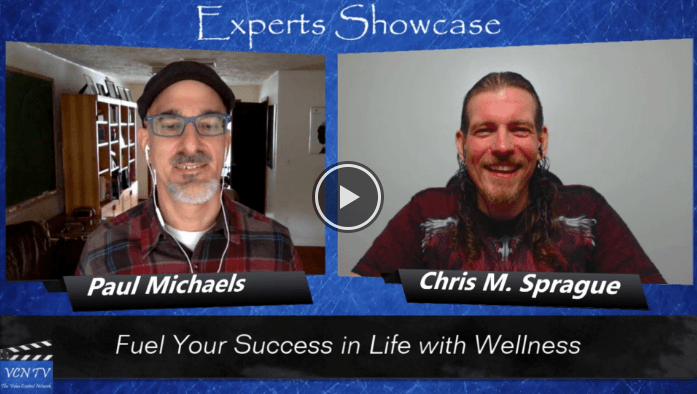 """LifehackrDiet's Paul Michaels featured on the """"Experts Showcase VCN TV"""""""