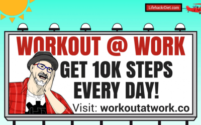 Learn how to Workout at work to reach 10k steps every day