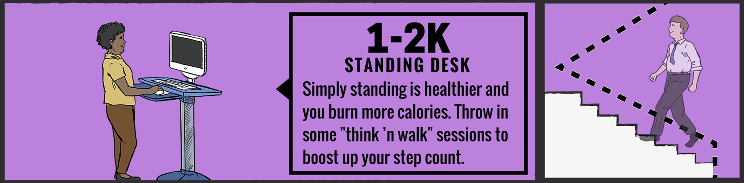 Workout at Work: Standing Desk